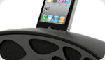 New - iPhone Loudspeaker Dock with a BOOM!