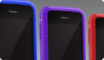 Naztech - Gel Skins for iPhone A Spectrum of Colors 